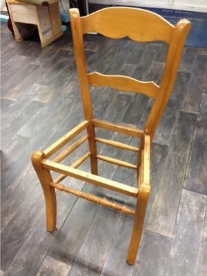 stoel zonder zitting 1