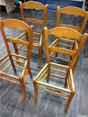 stoel zonder zitting