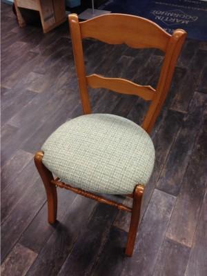 zitting klaar op stoel