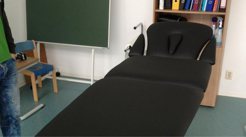 Herstoffering massagetafel - Spa resort