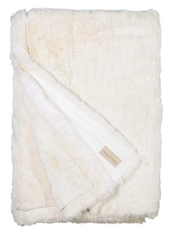 White Mink Decke