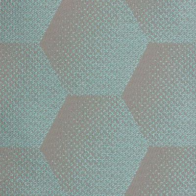 sunbrella hexagon j205 acqua